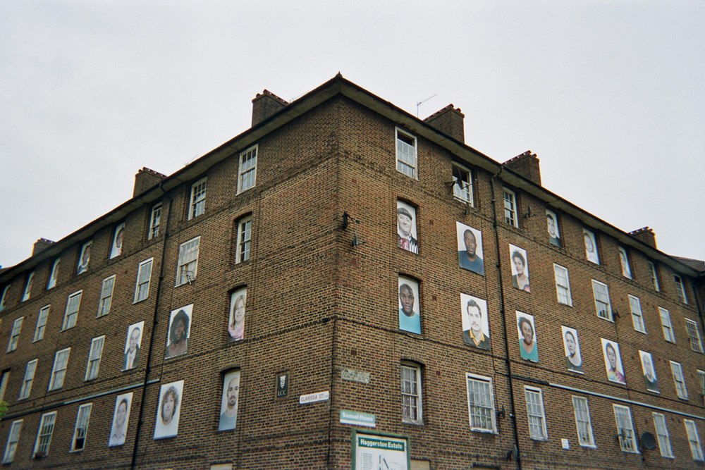Haggerston Estate, Hackney, 'I am Here' Project