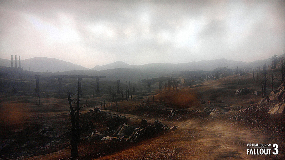 © Bethesda game studios - Francois Soulignac - Virtual tourism - Fallout 3