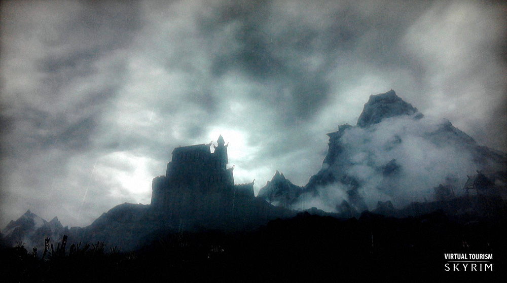 © Bethesda game studios - Francois Soulignac - Virtual tourism - Province de Bordeciel (Skyrim)