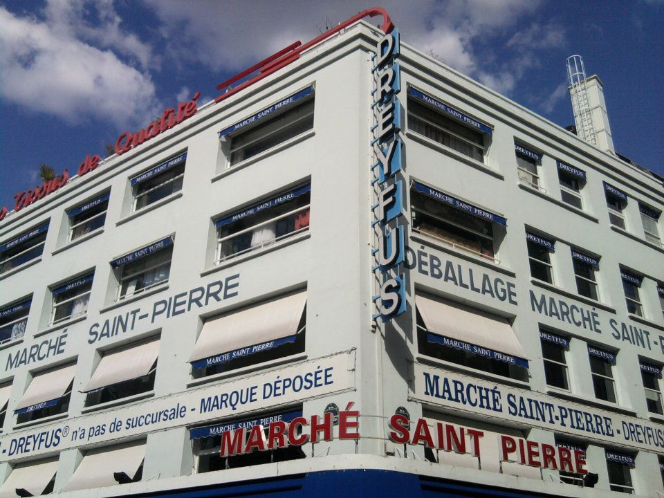 paris store front fa ade march saint pierre fran ois soulignac digital creative art. Black Bedroom Furniture Sets. Home Design Ideas